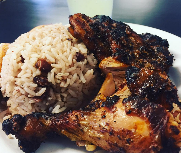 Clives Cafe, Jamaican food made with Love